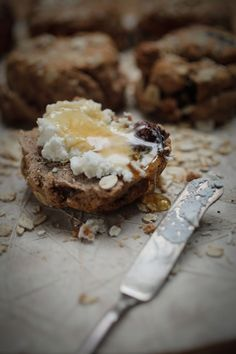 Oatmeal, Spelt + Honey Scones : The Healthy Chef – Teresa Cutter  Yum yum. Mine never look this good.