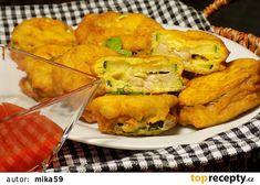 Cuketa se žampiony v nivovém těstíčku recept - TopRecepty.cz Vegetables, Vegetable Recipes, Veggie Food, Veggies
