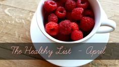 The Healthy List - April - Birds and Lilies