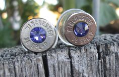 Bullet Earrings Tanzanite by Sarahsjewelrydesigns on Etsy, $20.00