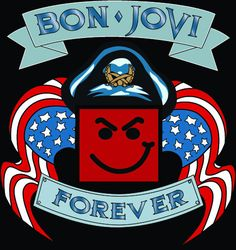 All of our shirts are custom-designed and made with pure creativity for our customers. They are very comfortable and soft. They are direct to garment printed. All shirts are pre-shrunk. Bon Jovi Forev
