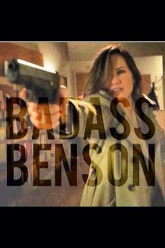 MY GF Detective Olivia Benson.
