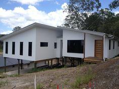 56 Ideas For Exterior Cladding Grey Modern Farmhouse House Cladding, Exterior Cladding, Facade House, Modern Exterior, Exterior Design, Exterior Color Schemes, Colour Schemes, House Paint Color Combination, Exterior Paint Colors For House