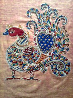 Kalamkari Patchwork - Crafts by Prithivya Dorairaj in Aari Works at touchtalent