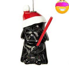 #decor Darth #Vader Decoupage Christmas Ornament