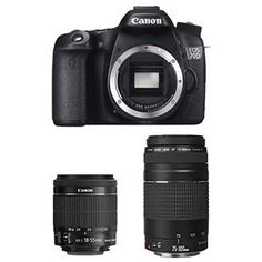Canon EOS 70D Digital SLR Camera Body  18-55mm IS STM  75-300mm Lens http://ebay.to/28Nq2UI