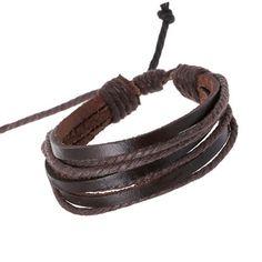 Handmade Men Simple Style Bracelet