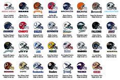 NFL Logo's   NFL & NCAA   Pinterest