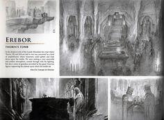 -The Hobbit Erebor Tombs Concept Art-