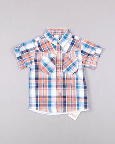Camisa de cuadros m corta con bolsos marca Rebel 7,70 € http://www.quiquilo.es/catalogo-ropa-segunda-mano/camisa-de-cuadros-m-corta-con-bolsos-en-color-naranja-marca-rebel.html