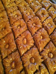 Algerian cake, it  is called Baklawa,it is served in our holiday after Ramadan.