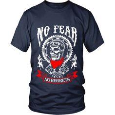 Motorcycle - 'No Fear' Unisex Shirt Cave, Motorcycle, Unisex, Tees, Mens Tops, T Shirt, Fashion, Supreme T Shirt, Moda
