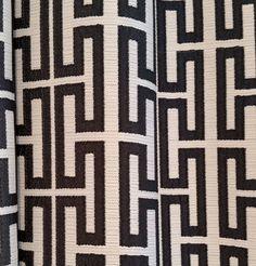 Titus Jacquard Fabric in charcoal