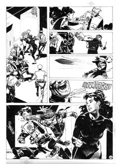 Punisher page by Jorge Zaffino   Artist:  Jorge Zaffino