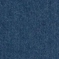 Plain indigo washed denim