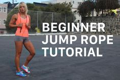 Jump rope beginner? Here's a quick tutorial on how to get started jumping rope like a pro.
