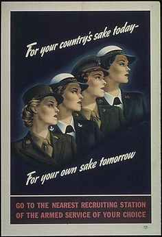 """For Your Country's Sake Today - For Your Own Sake Tomorrow"", 1941 - 1945. by The U.S. National Archives, via Flickr ~ World War II"