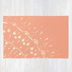 C Pink Area Rug Light Nursery Lace White Salmon
