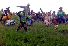 Cooper Hill's Cheese Rolling Festival — Gloucester, England | 23 World Festivals You Won't Want To Miss