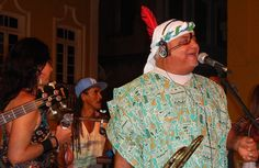 FOTOS (28) + VÍDEO (1) - Geronimo Santana e Banda Mont´Serrat - Escadaria do Passo - Salvador-Bahia-Brasil (27-01-2015)