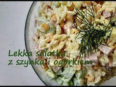 sałatka z 4 składników,na lunch,do pracy Side Dishes, Salads, Lunch, Youtube, Food, Eat Lunch, Essen, Meals, Lunches