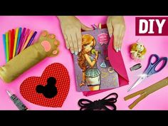 50 Back to School Ideas to Inspire You 🐱🐾💖 Kawaii Pencil Case, Colorful Notebook, and a lot more. Diys, Kawaii, Diy Room Decor, Back To School, Diy And Crafts, Lunch Box, Youtube, Minecraft Pokémon, Color