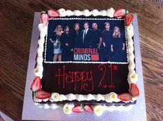 We love Criminal Minds too! - Sweet Designs by Claire #birthday #fun #love #birthdaycake #unique #custom