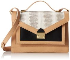Loeffler Randall Accessories Rider-WS Top Handle Bag,Peach,One Size - The price dropped 30% #frugal #savingmoney