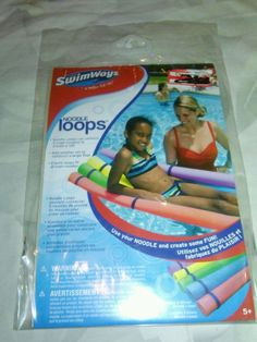 Swimways Noodle Loops Can Connect 5 Noodles To make a Raft #Swimways