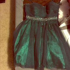 Formal Dress It's emerald green, very pretty and fitting! Dresses Prom