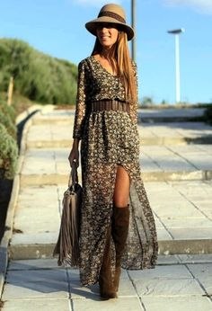Inspirational Boho Style Outfits The taste of Petrol and Porcelain (10)