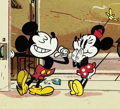 "Mickey n Minnie in ""Road Hogs"" Minnie Mouse Images, Mickey Mouse Wallpaper, Mickey Mouse Cartoon, Disney Wallpaper, Mickey And Minnie Love, Mickey Mouse And Friends, Mickey Minnie Mouse, Disney Mickey, Walt Disney"