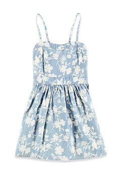 Floral Chambray Cami Dress (Kids) | Forever 21 girls | #f21kids