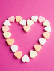 I love this creative way to play a Valentine's Day Candy Hearts Game with these candy hearts.  This game is fun for the whole family to play.
