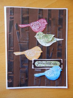 Dianne's cards--Wings of Friendship