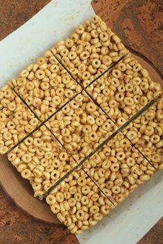 3 Ingredient Peanut Butter & Honey Cereal Bars | Healthy Food For Living | Bloglovin'