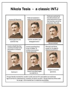 INTJ - Nikola Tesla