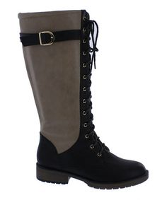 This Black Thomas Boot by Athena Footwear is perfect! #zulilyfinds