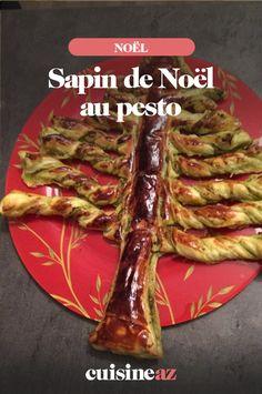 Le sapin de Noël au pesto de basilic aura un vrai succès, à l'apéritif, sur une table des fêtes de fin d'année. #recette #cuisine #noel #fete #findannee #pesto #basilic #apero #apetitif Asparagus, Vegetables, Cooker Recipes, Parchment Paper Baking, Fir Tree, Studs, Veggies, Vegetable Recipes, Asparagus Bacon
