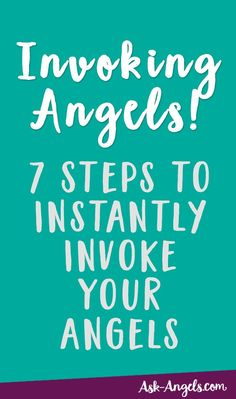 Invoking angels is quite simply calling angels into your present time and space. Learn the 7 Steps for Instantly Invoking Your Angels right here and now! Spiritual Guidance, Spiritual Life, Spiritual Awakening, Spiritual Growth, Spiritual Prayers, Spiritual Awareness, Bolivia, Angel Spirit, Angel Guide