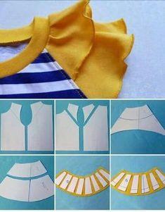 27 elegant photo of custom sewing patterns – ArtofitI think i want to make all my sleeves petal tulip sleeves = salvabrani – Artofit Kids Dress Patterns, Clothing Patterns, Pattern Cutting, Pattern Making, Sewing For Kids, Baby Sewing, Sewing Tutorials, Sewing Projects, Sewing Sleeves