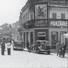 Turist în București: Strada Franceza - Centrul Vechi - Bucuresti Old Photos, Vintage Photos, Romania People, Paris, Izu, Old City, Traditional House, Time Travel, Street View
