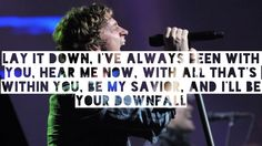 Matchbox 20 ~ Downfall... [I don't miss you, fucker. Hope it's nice in Hell, Crowley.]