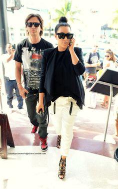 d48c71a371b02 kim kardashian Givenchy Sunglasses, Black Sunglasses, Kim K Style, Style  Blog, Kardashian
