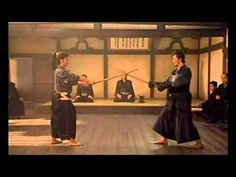 free fighting with bokkens: This amazing fight choreography is rare –opening scene in Gohatto> which was controversial (the name means taboo)  this scene required tremendous skills to produce.