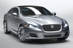 Jaguar: What's coming in 2010-- and beyond: 2010 Jaguar XJ front view
