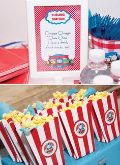 Thomas & Friends Train Themed Party {2nd Birthday}