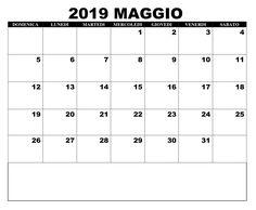 Calendario Maggio 2020 Da Stampare.40 Best Calendario Maggio 2019 Da Stampare Images