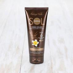 SOL Tropical - Crema solare - abbronzatura intensa - con olio di Noce brasiliana ed estratto di Maracujà -  SPF6 protezione bassa (200 ml) water resistant