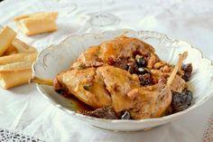 S vášní pro jídlo: Králík na víně, olivách a sušených rajčatech Pork, Meat, Chicken, Kale Stir Fry, Pork Chops, Cubs